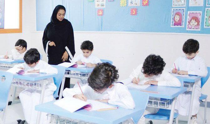 Saudi Arabia Students and Teacher
